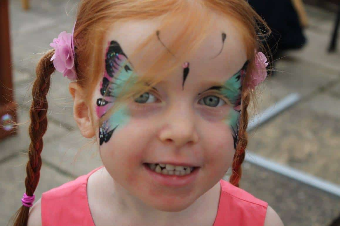 The Childhood Trauma of Face Paint
