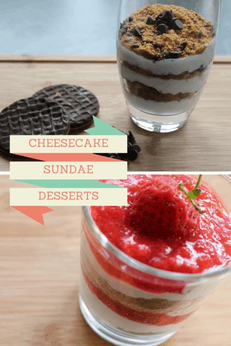Cheesecake Sundae Desserts Recipe