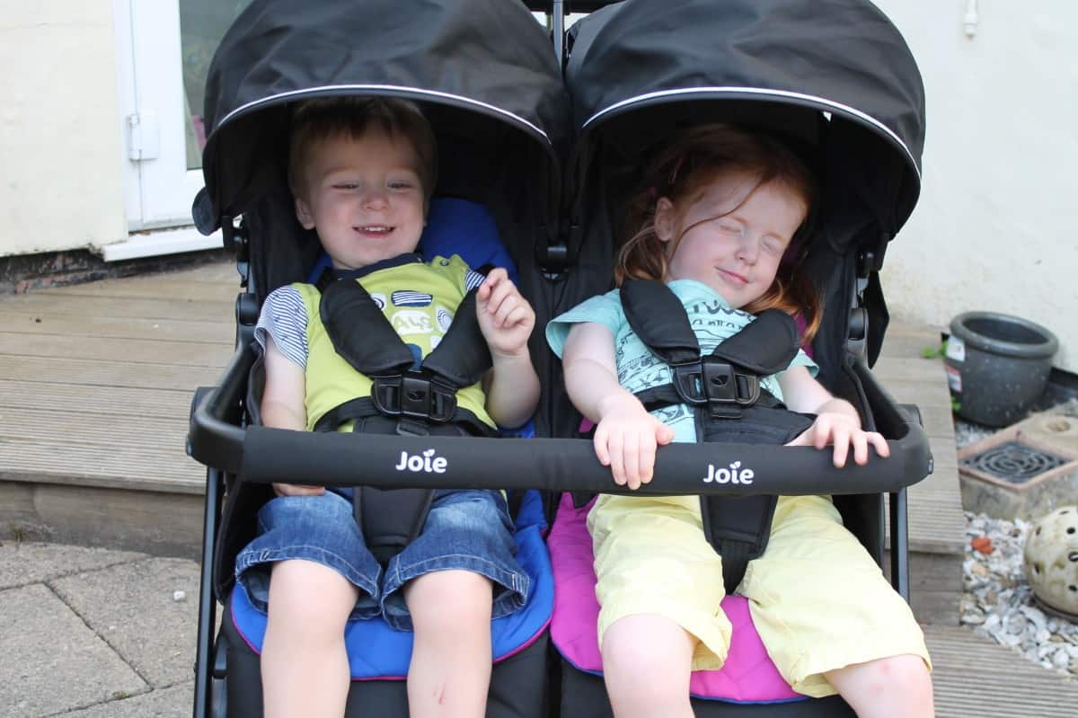 Review: Joie Aire Twin Double Stroller