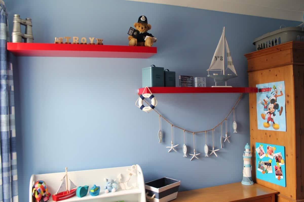 Little Man's Nautical Big Boy Room