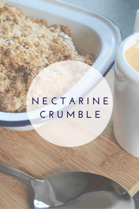 Nectarine Crumble Recipe