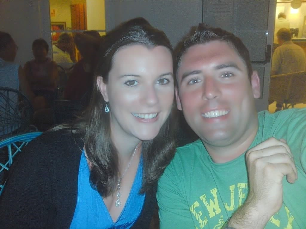 Mr and Mrs Lighty in Lanzarote, just before we got engaged in 2009
