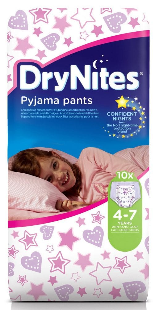Overcoming Bedwetting with the help of DryNites