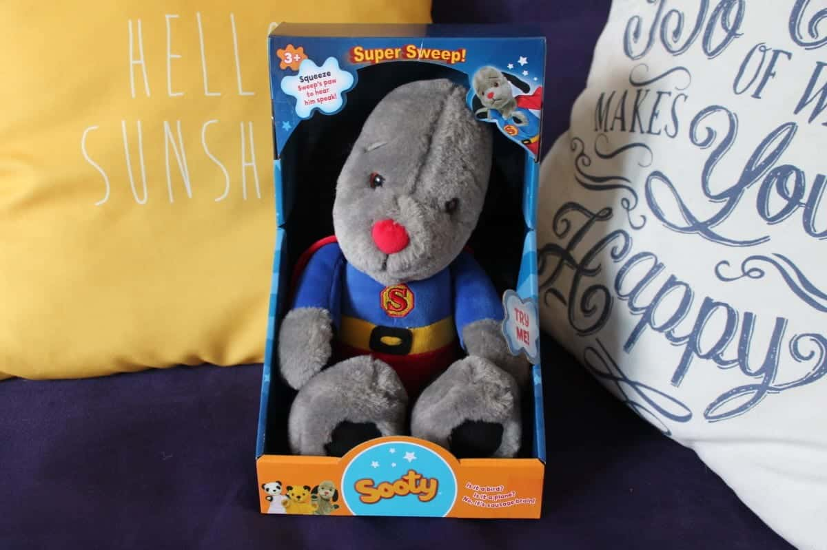 Review: Super Sweep Soft Toy