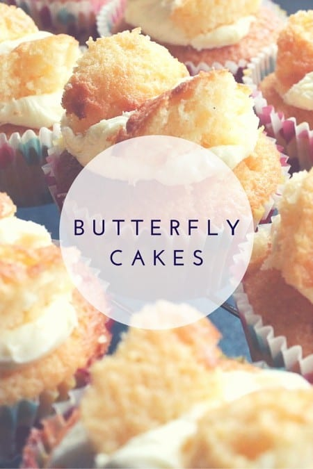 Baking Butterfly Cakes with Clover Recipe