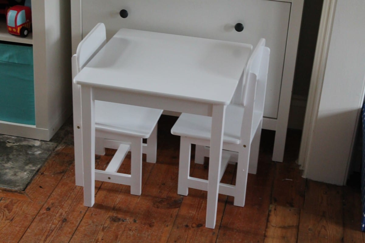 Children S Table And Chairs From Sue Ryder Review What