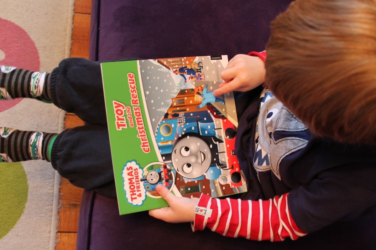 Review: Egmont's Personalised Thomas and the Christmas Rescue Book #ThomasChristmasBook