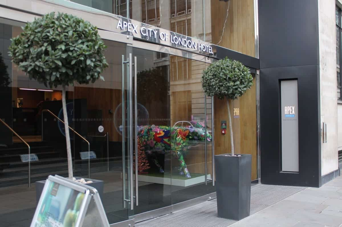 Apex City of London Hotel Review
