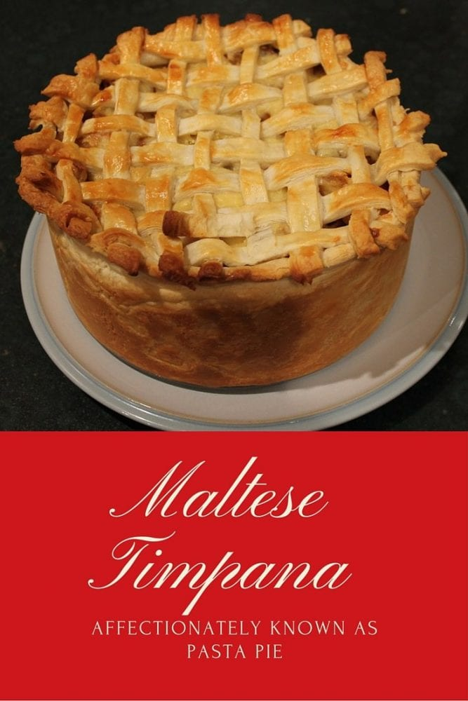Recipe: Making Maltese Timpana {Pasta Pie} #ExpediaWorldOnAPlate