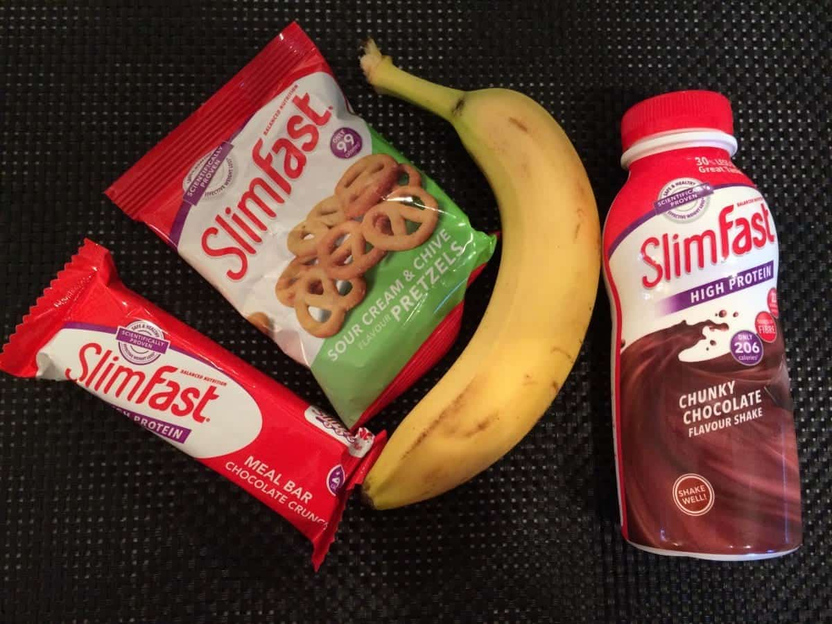 A Week on the SlimFast Challenge #SlimFastChallenge