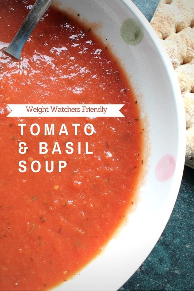 Really Easy 'Free' Tomato and Basil Soup Recipe
