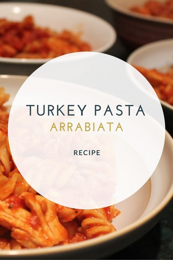 Food Resolutions and Bernard Matthews Pasta Arrabiata Recipe
