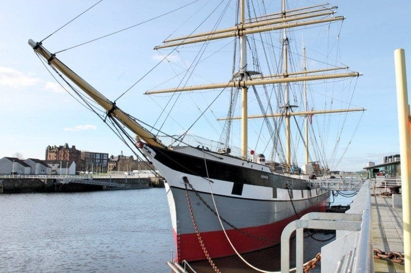 The Riverside Museum and the Tall Ship Review