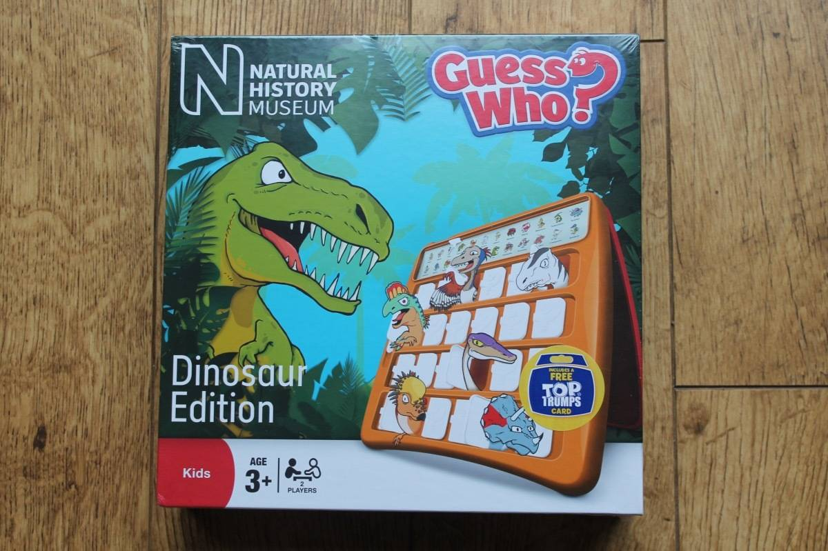 Review: Dinosaur Guess Who