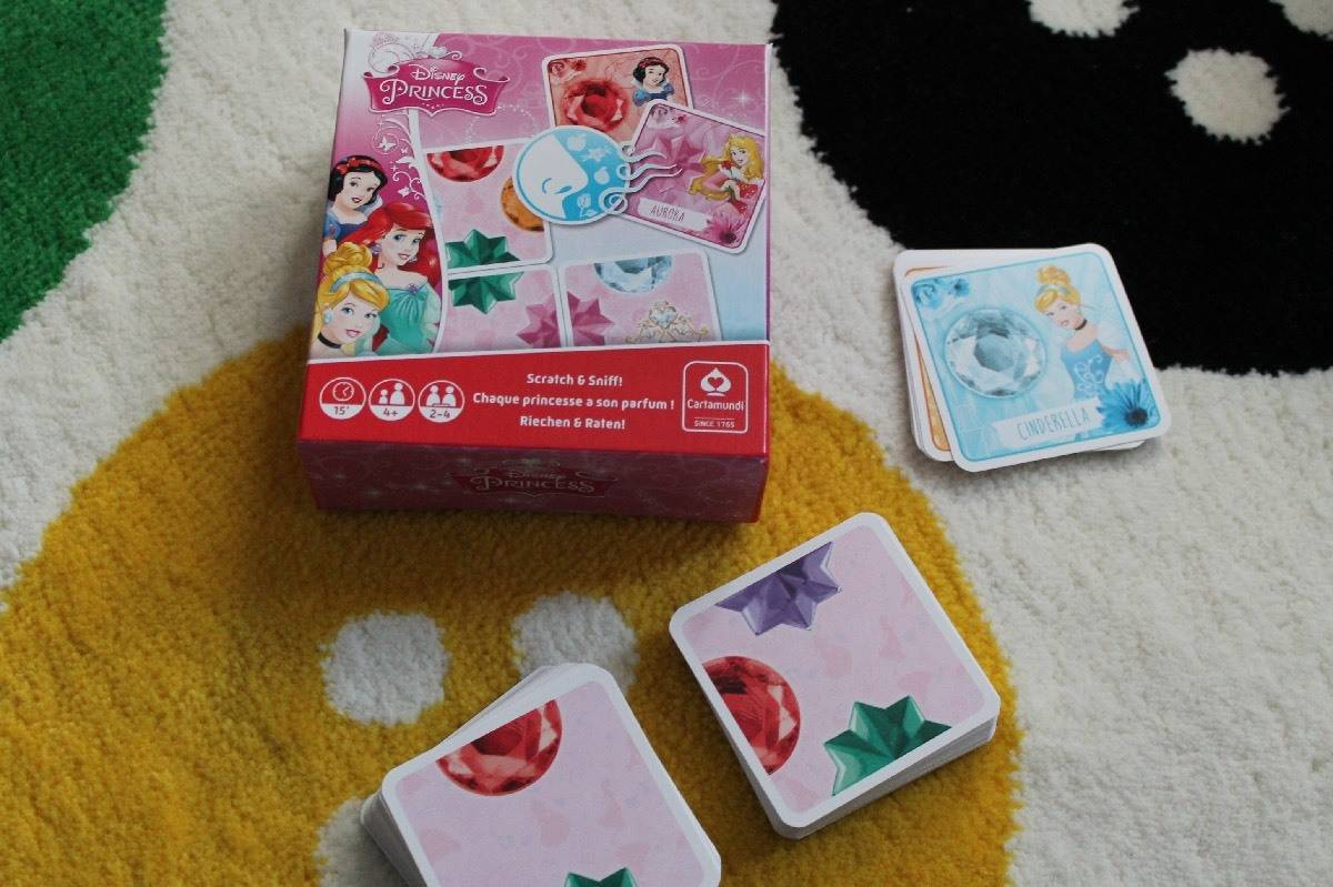Review: Disney Princess Scratch and Sniff