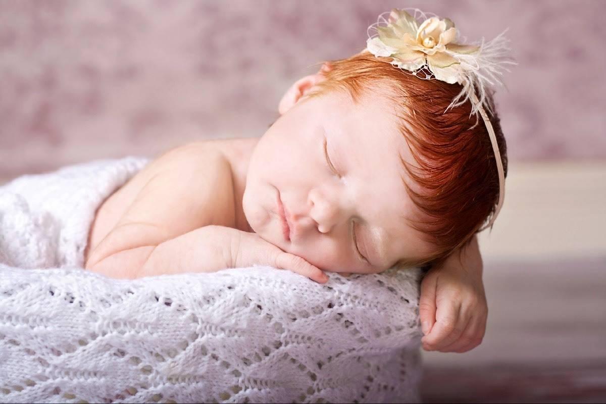 Reminiscing: LP's Newborn Photoshoot