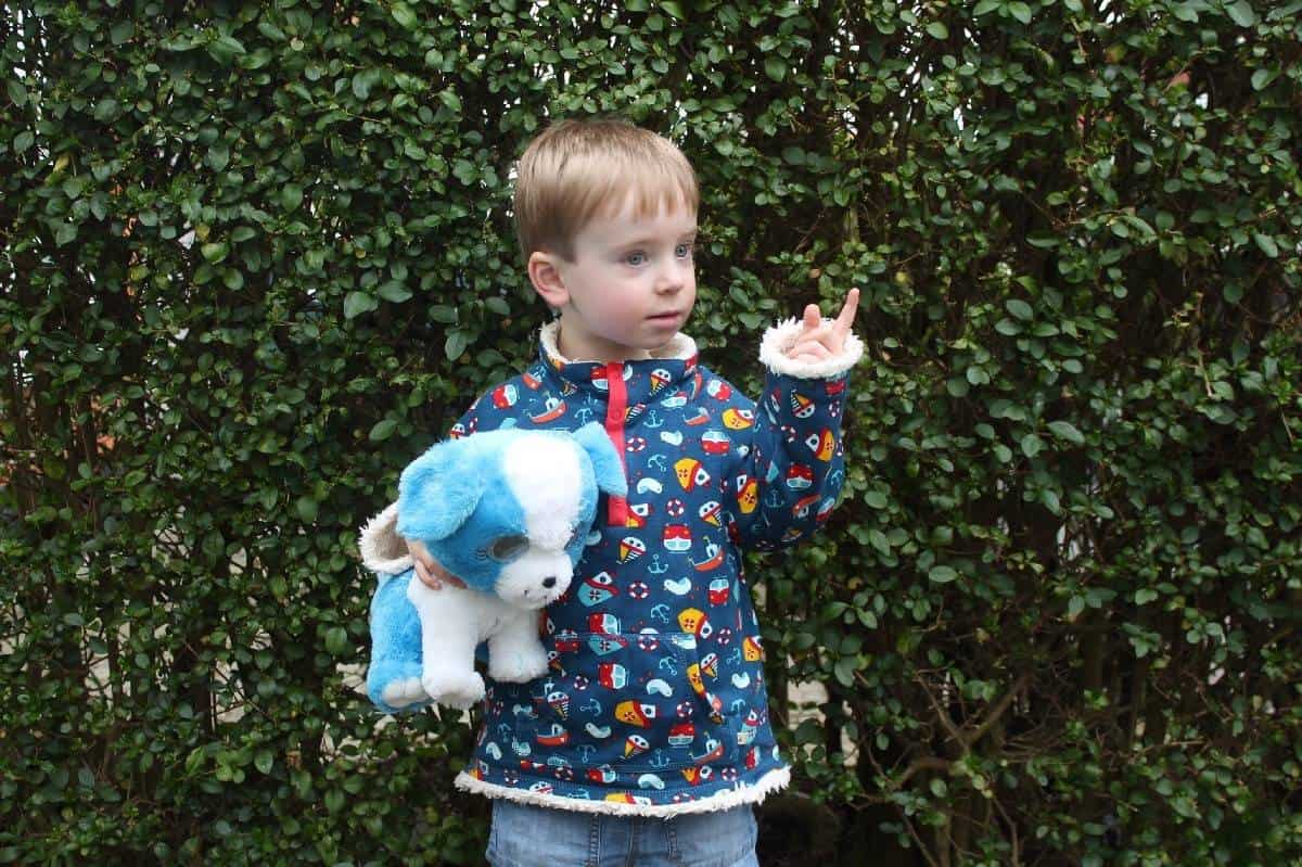 Review: Frugi Little Snuggle Fleece