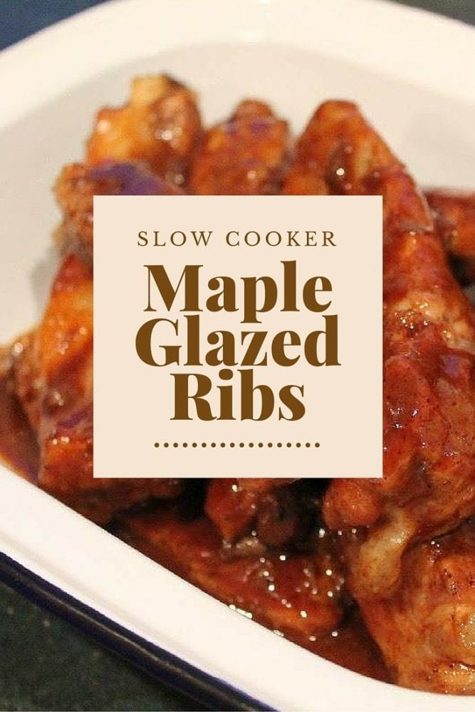 Recipe: Slow Cooker Maple Glazed Ribs