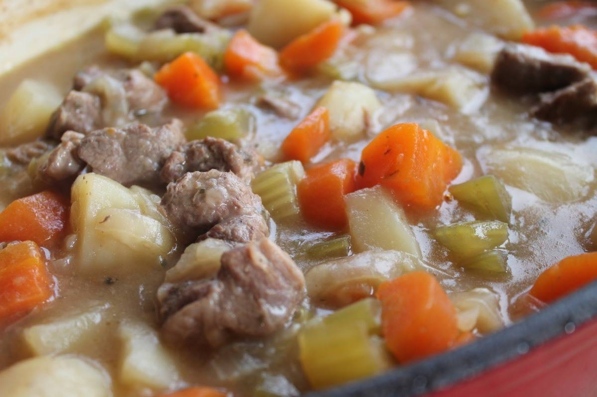Slow Cooked Lamb Stew Recipe