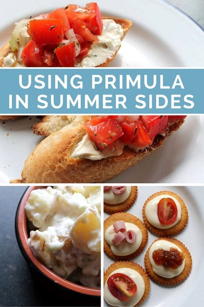 Summer Sides Recipes with Primula