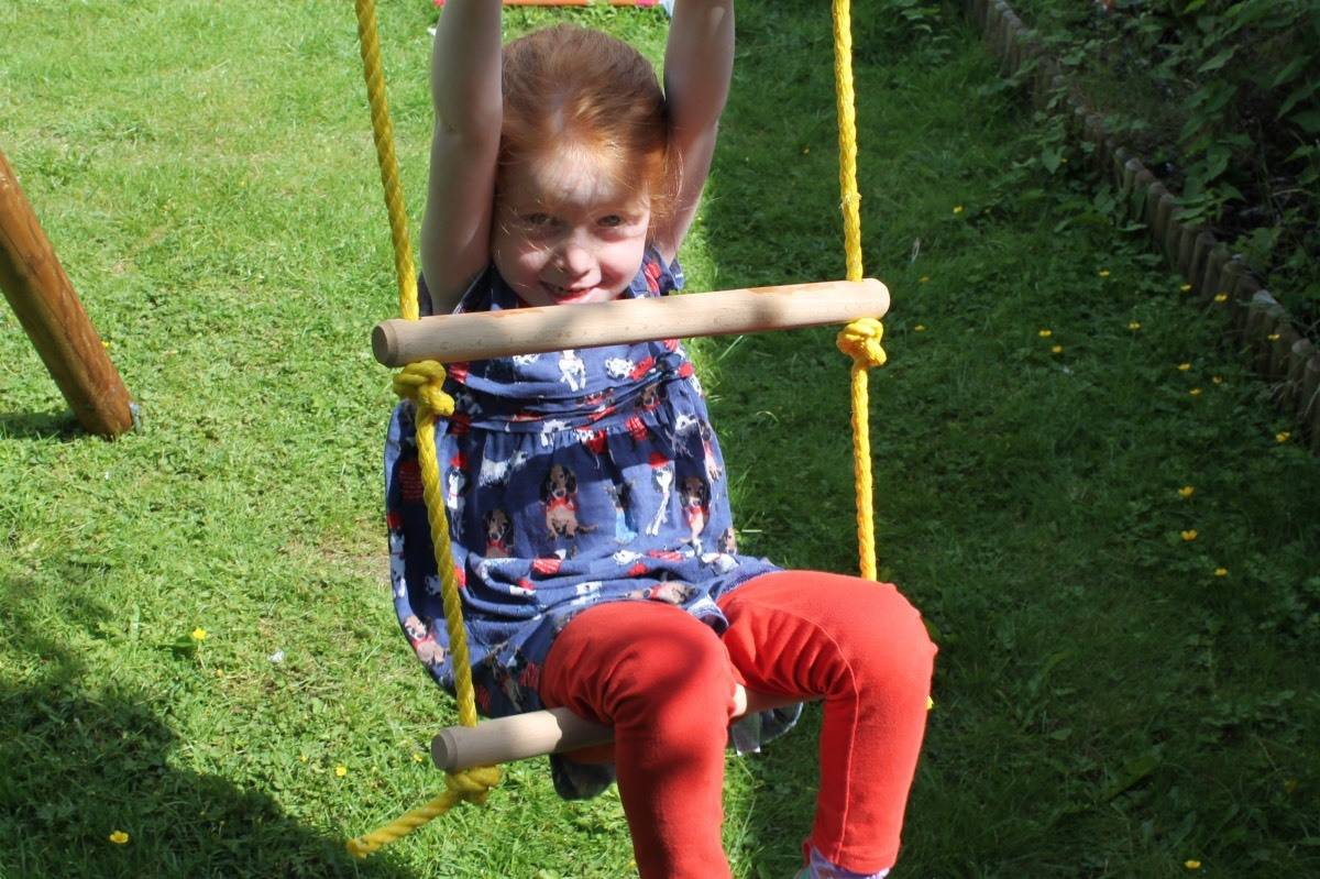 Review: Little Tikes Riga Swings