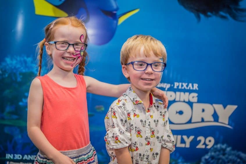 The Specsavers Finding Dory Range