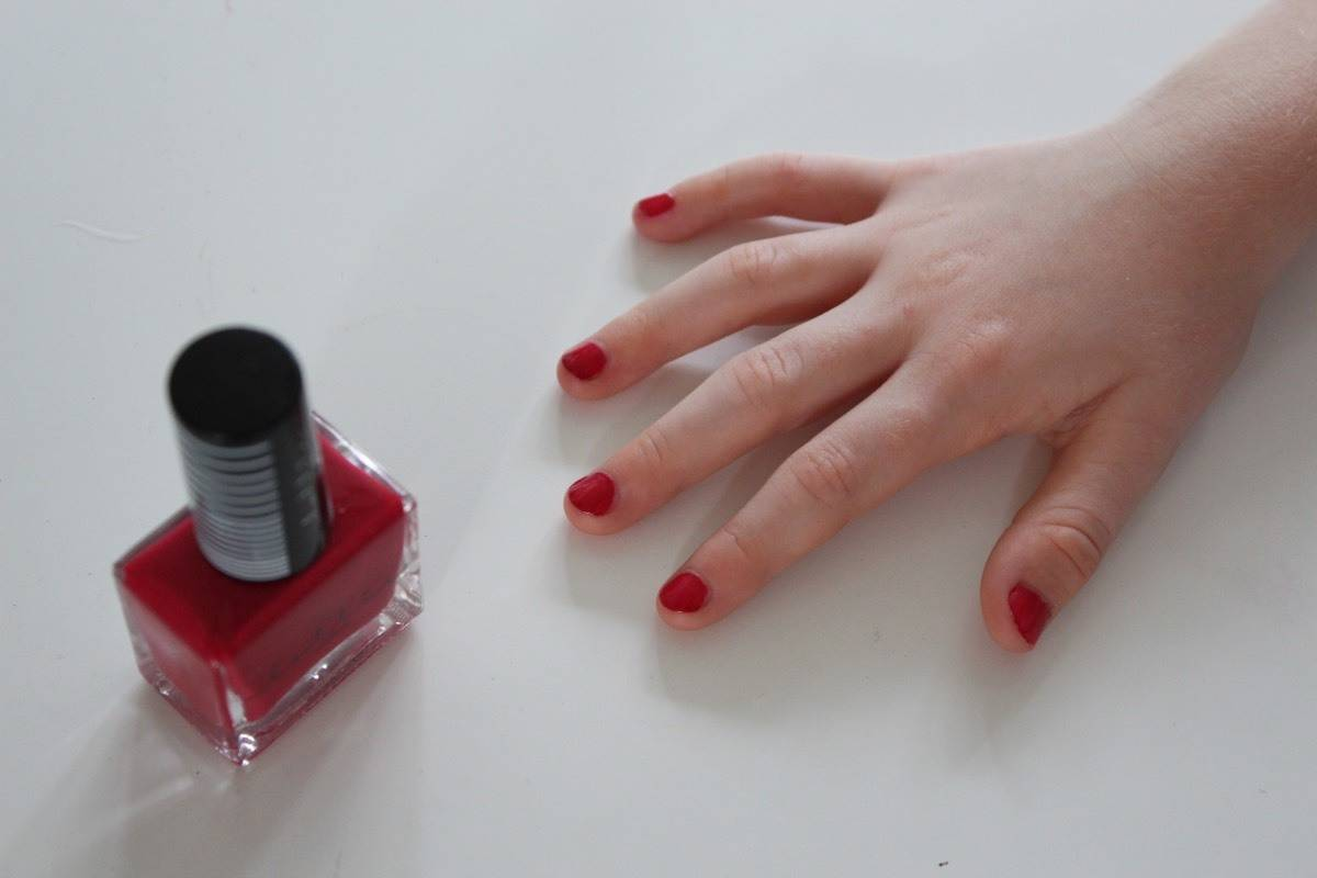 Painting Nails {The Ordinary Moments}