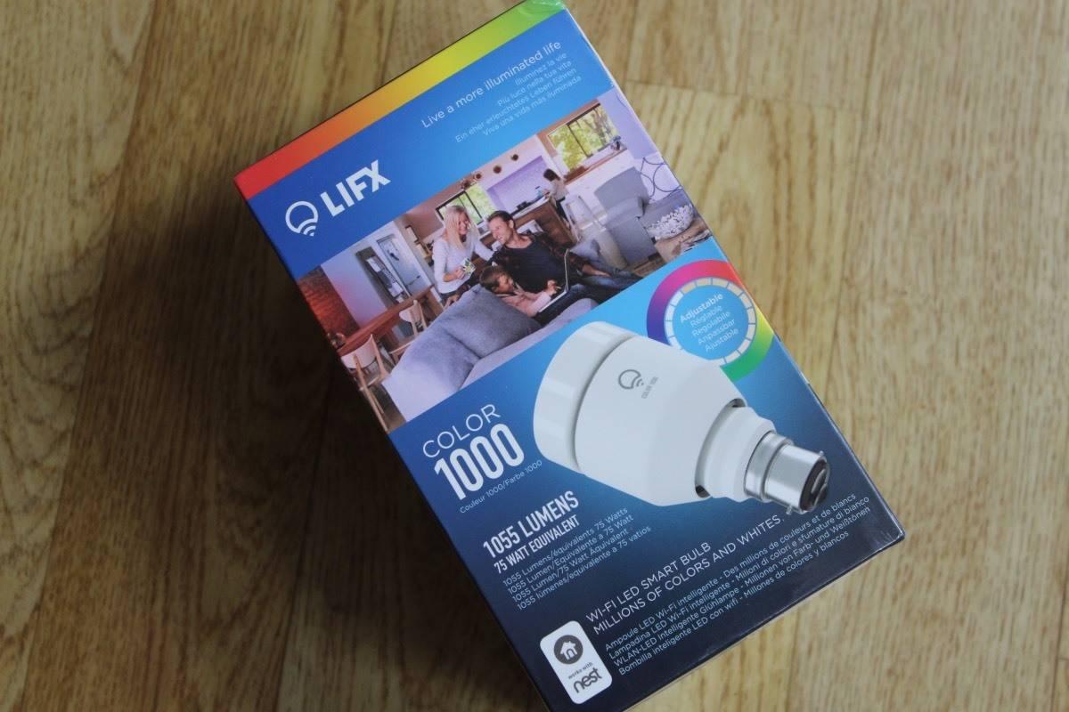 Review: LIFX Color 1000 Lightbulb