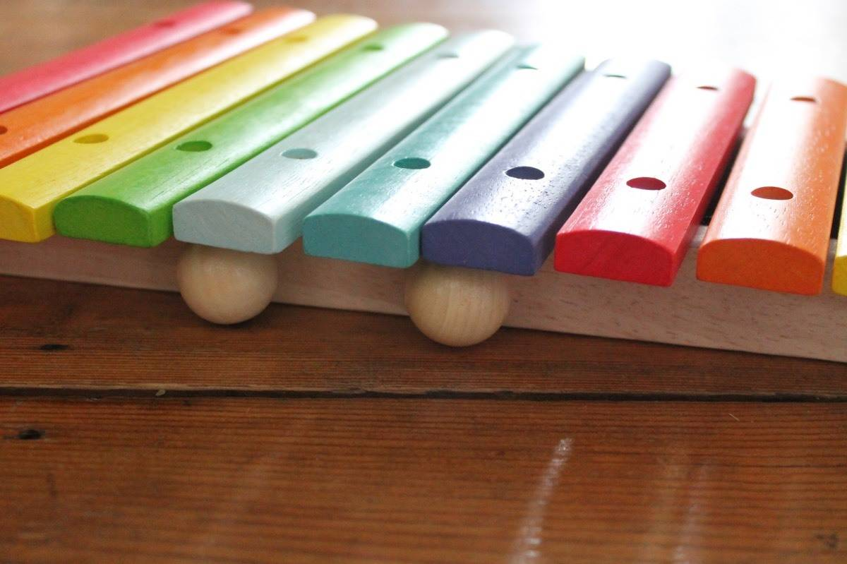 Review: Bigjigs Coloured Xylophone