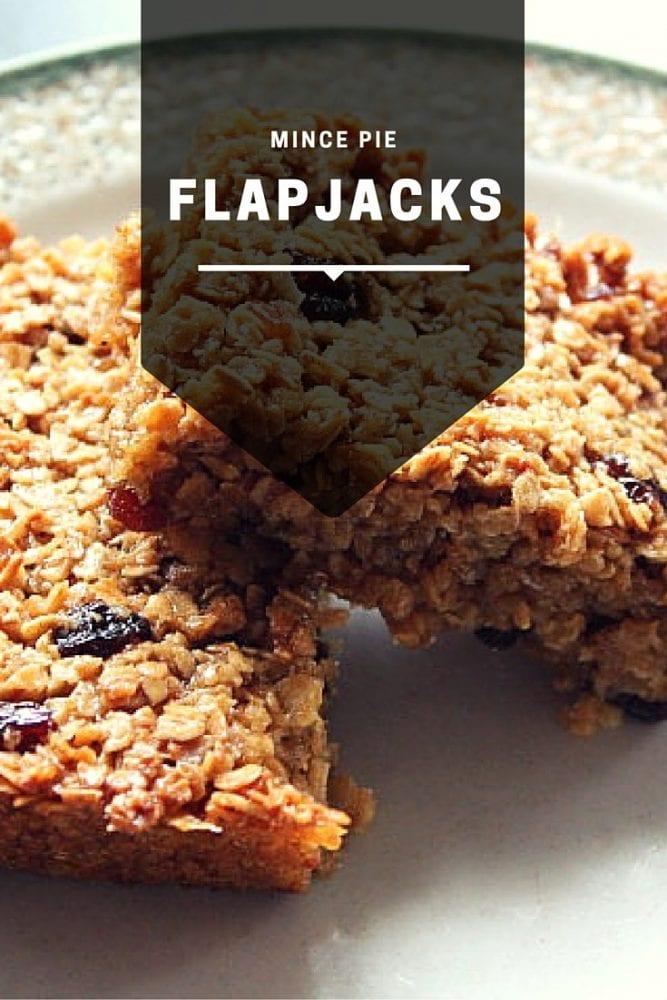 Mince Pie Flapjacks Recipe