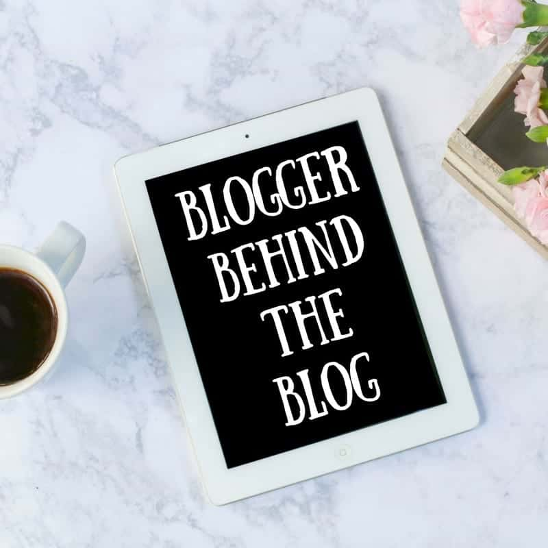 Blogger Behind the Blog {Me, Him, the Dog and a Baby}