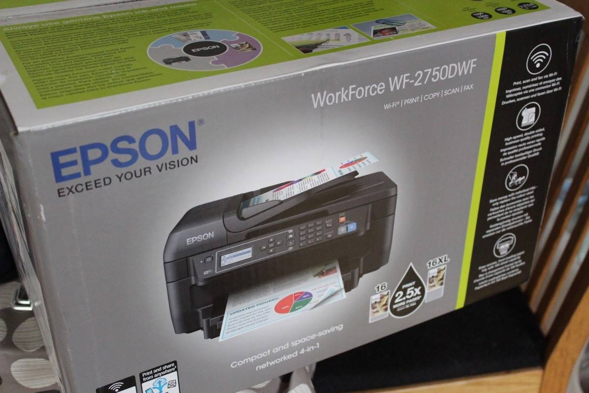 how to set up epson workforce wf7720 for printing
