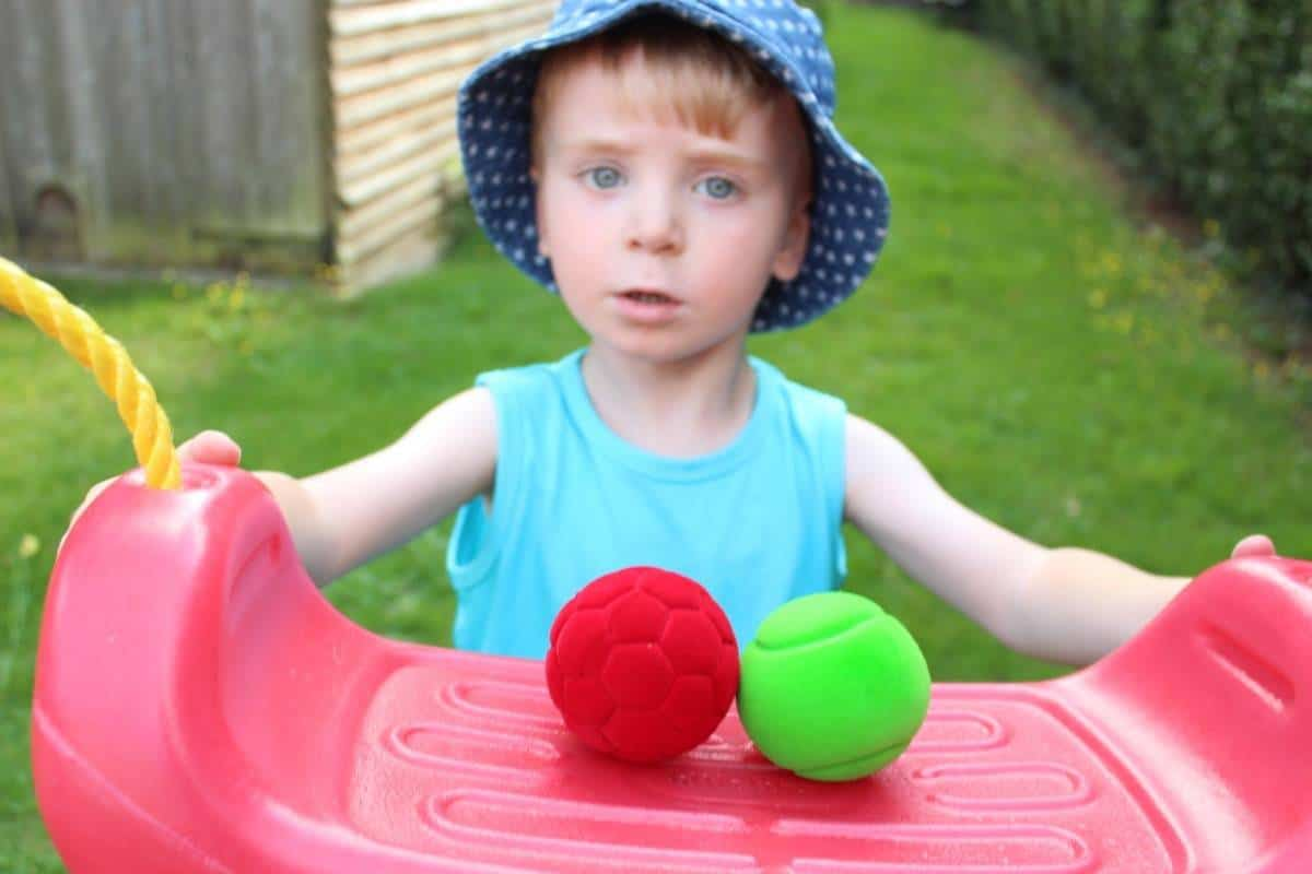 Review: Rubbabu Balls from Bigjigs Toys