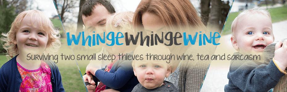 Blogger Behind the Blog {Whinge, Whinge, Wine}