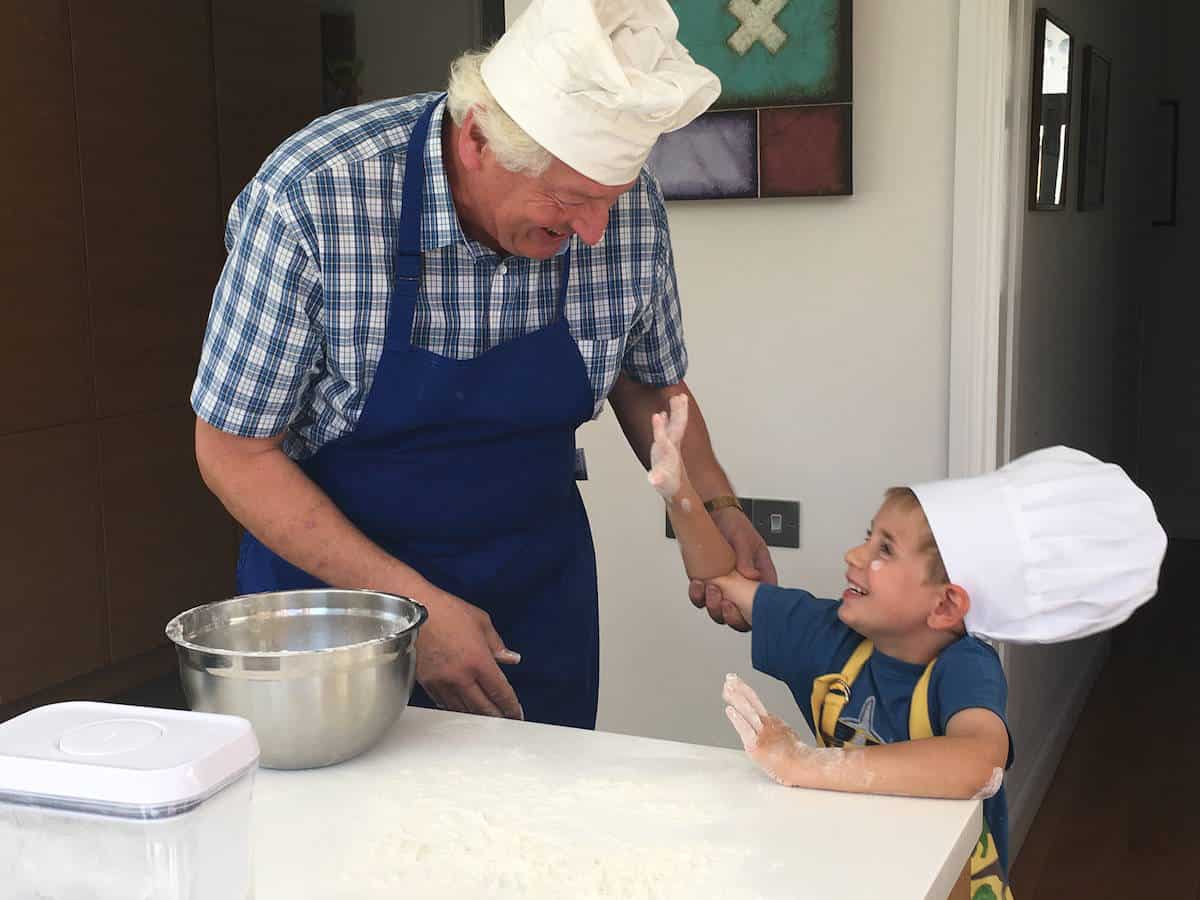 Passing on Cooking Skills to Future Generations #CookSomethingGrand