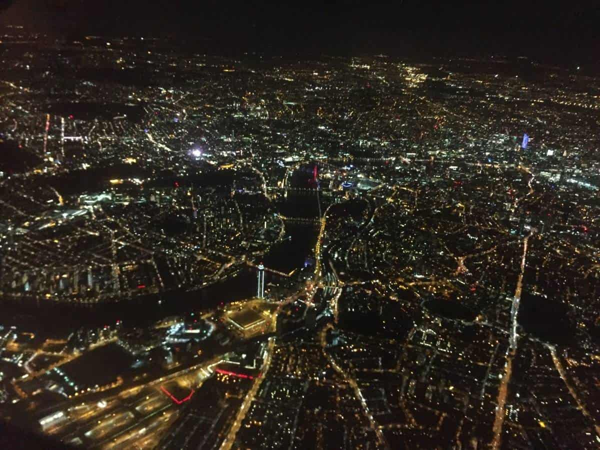 London From Above By Night {The Ordinary Moments}
