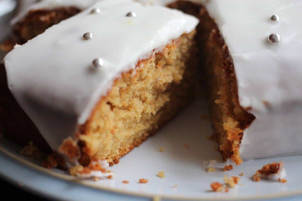 Frosted Orange Cake Recipe