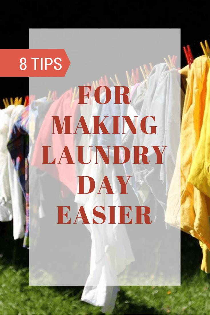 8 Tips & Tricks That Make Laundry Day Easier