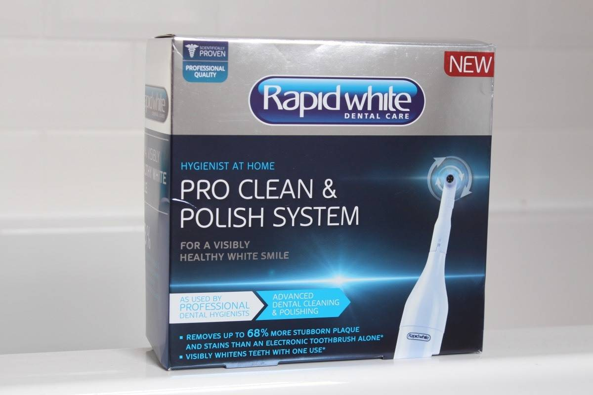 Review: Rapid White Pro Clean and Polish System