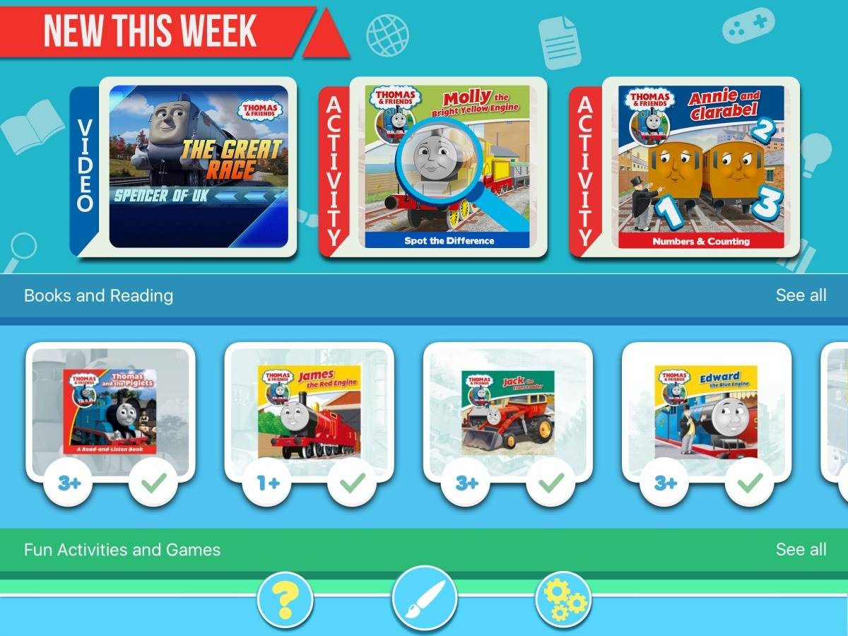 Little Man Started Out Using The Thomas Friends Read Play App To His Favourite Books These Are Fantastic Audio E That Completely