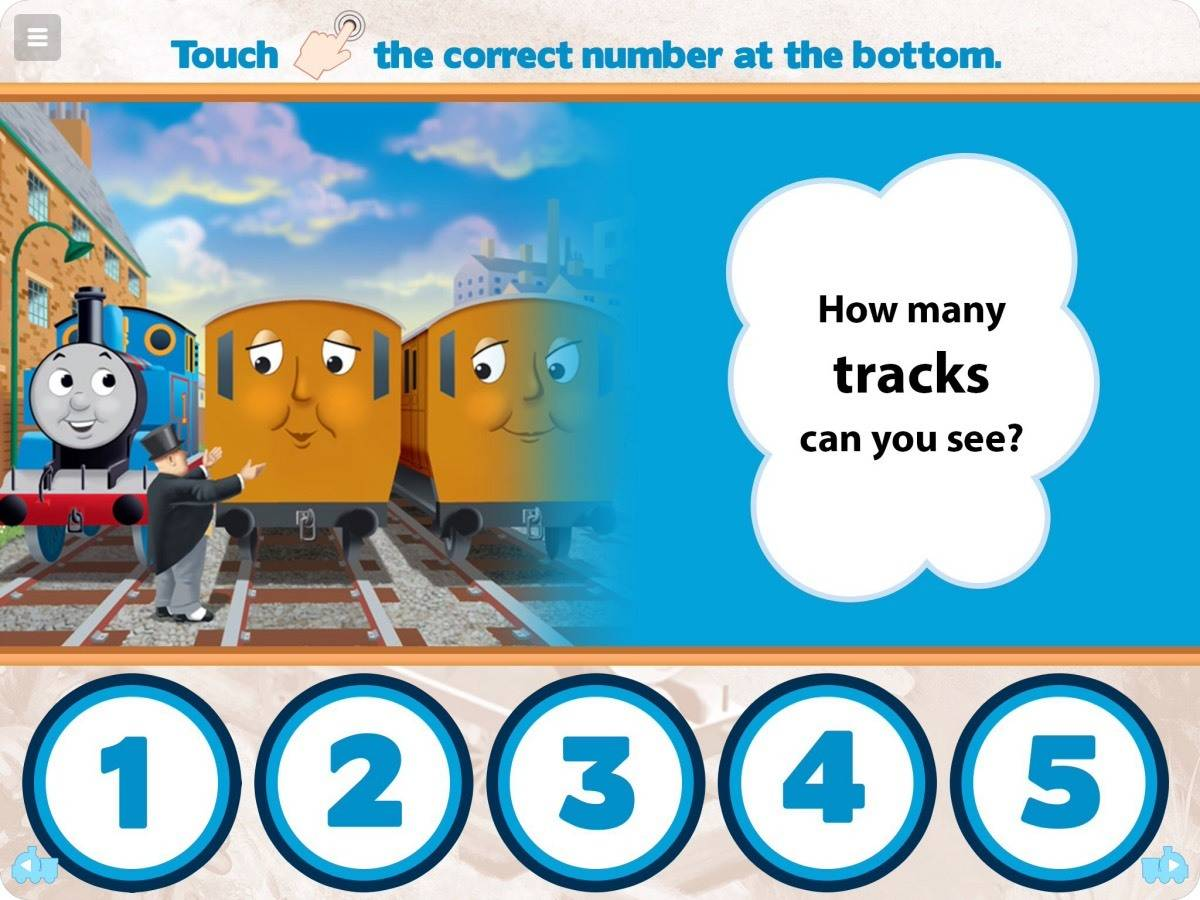 Little Man Loves the New Thomas & Friends Read & Play App