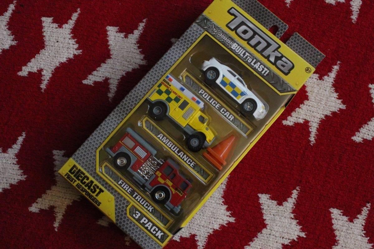 Review: Tonka Diecast Emergency Vehicles