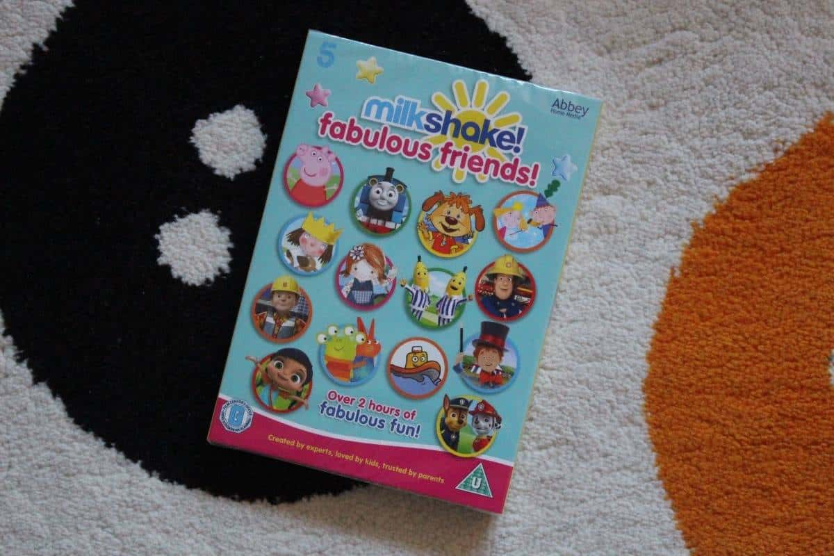 Milkshake Fabulous Friends DVD Review
