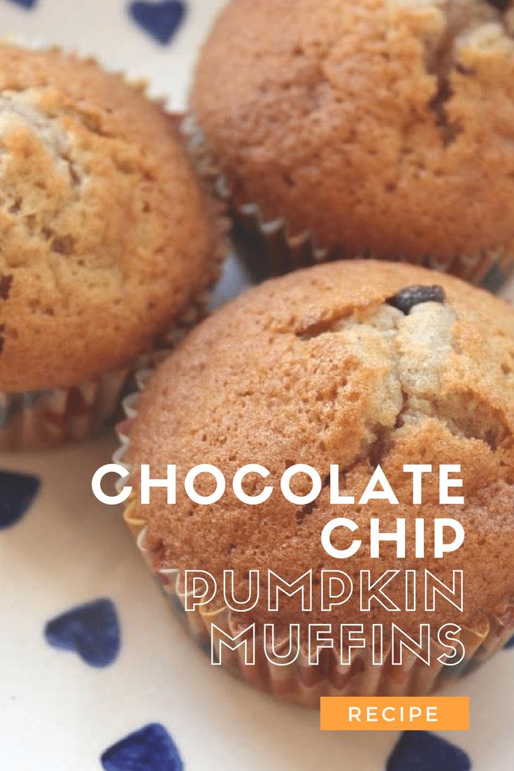 Recipe: Chocolate Chip Pumpkin Muffins