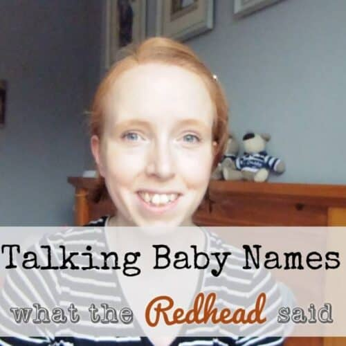 Baby Names - How Did We Decide?