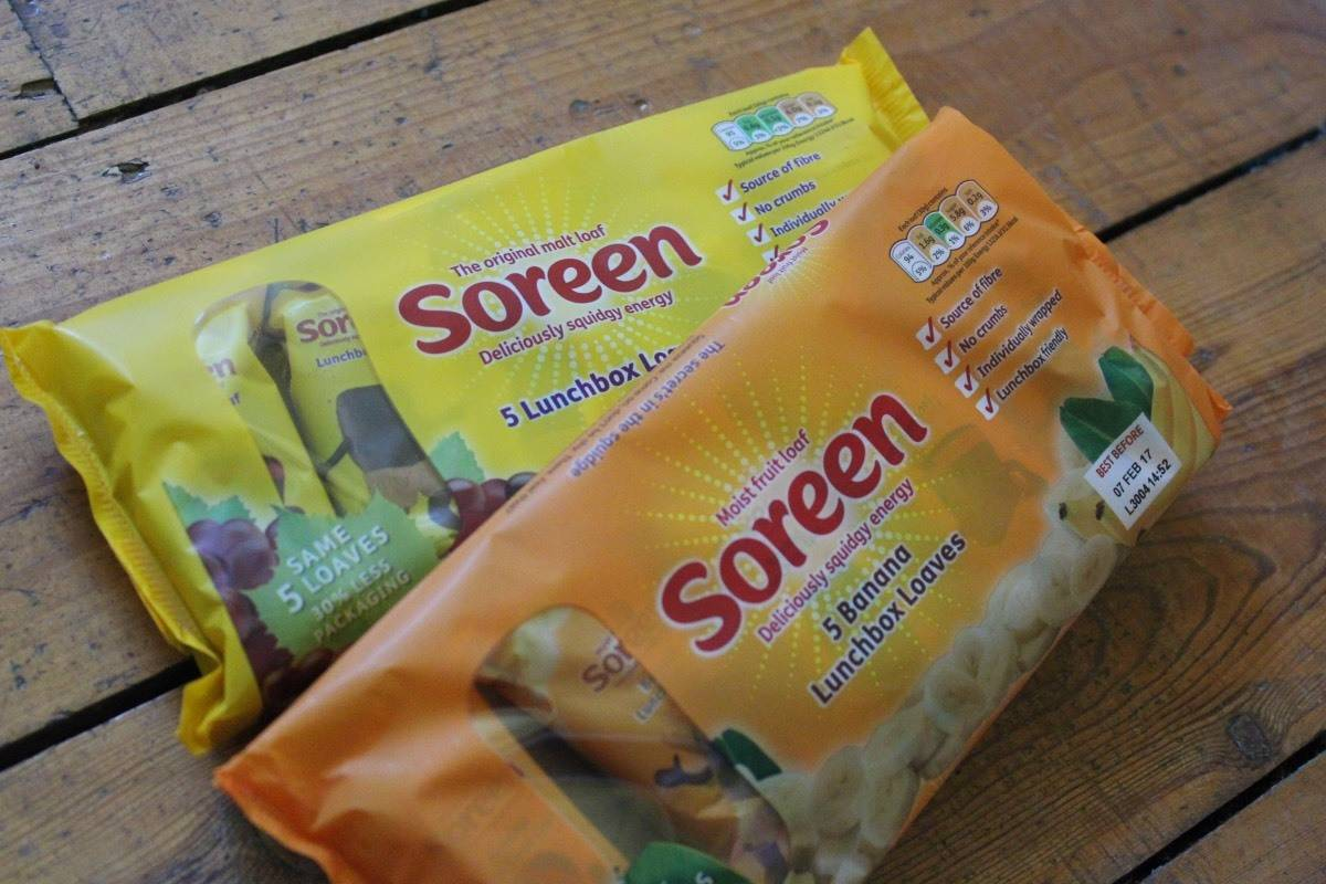 Adding Soreen to Lunchboxes #lunchboxheroes