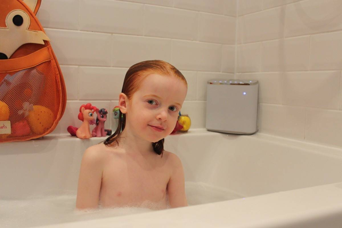 Adding Music to our Bathtimes with the Panasonic ALL05