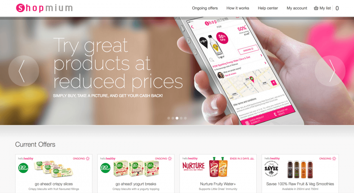 Getting HelloHealthy with Shopmium