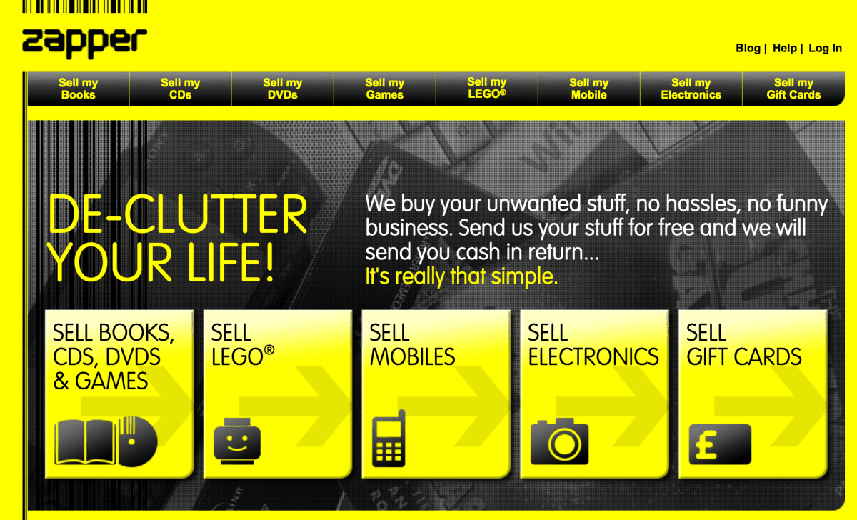 Making Money: Sell Unwanted Gift Cards and Declutter with Zapper