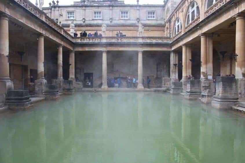 A Mini-Break in Bath to visit The Roman Baths
